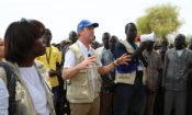 Ambassador Lane and WFP Executive Director in South Sudan